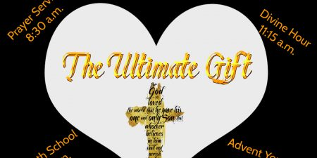 "You're invited to our Community Guest Day. Hear about and receive ""The Ultimate Gift"""